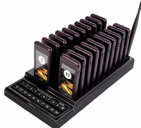 Thẻ báo rung gọi khách hàng LG-GKH01