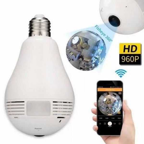 Camera ngụy trang bóng đèn Wifi không dây Tuya Q11