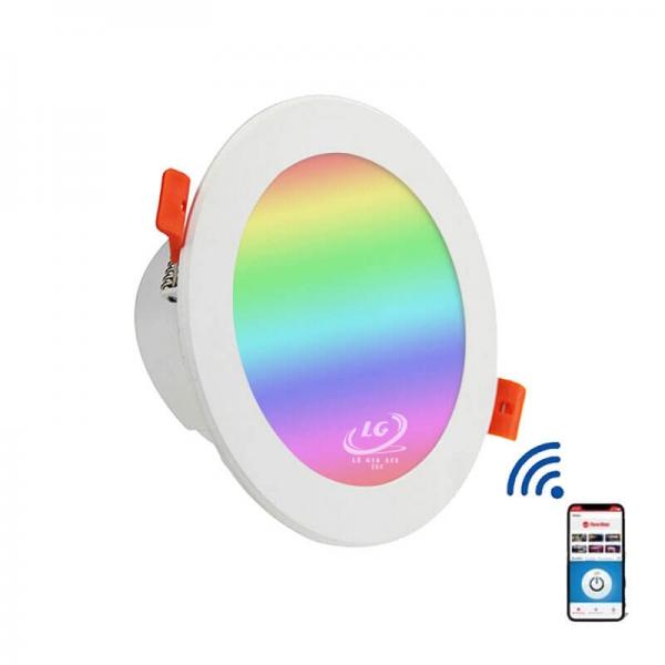 Đèn Led Downligt âm trần thông minh Tuya Q12 7W