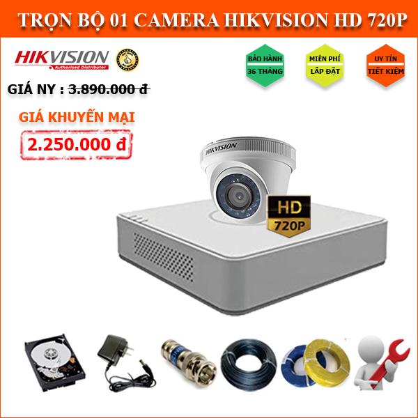 Camera HIKVISION 1 mắt HD720P