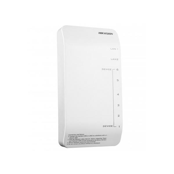 Bộ cấp nguồn và phân phối tín hiệu Video/ Audio HIKVISION DS-KAD606-P