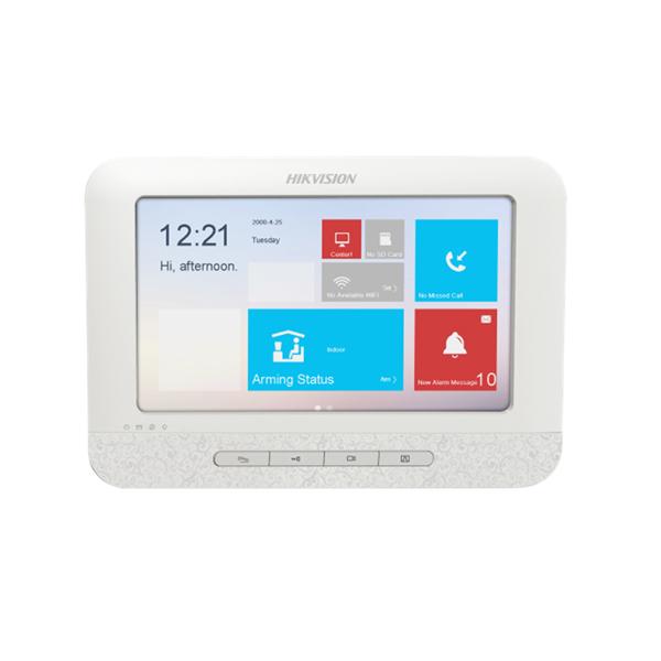 Chuông cửa màn hình màu IP không dây HIKVISION DS-KH6310-W(L)