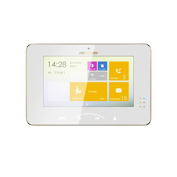 Chuông cửa màn hình màu IP không dây HIKVISION HIK-VDM5000-WT